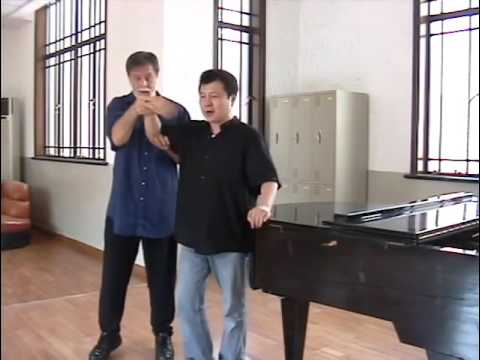 Nessun dorma   Peter Mark coaching at Shanghai Opera