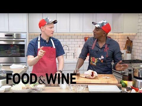 Marcus Samuelsson's Chicken Soup   Mad Genius Live   Food & Wine