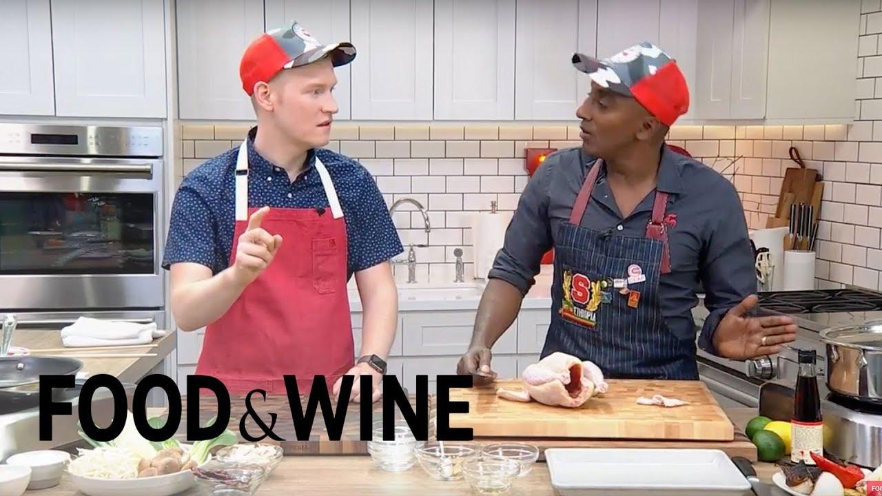 Marcus Samuelsson's Chicken Soup | Mad Genius Live | Food & Wine