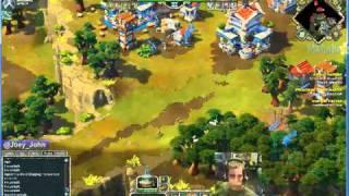 Age Of Empires Online Walkthrough - Pt.197 Greek - Defeat Paphos (i)