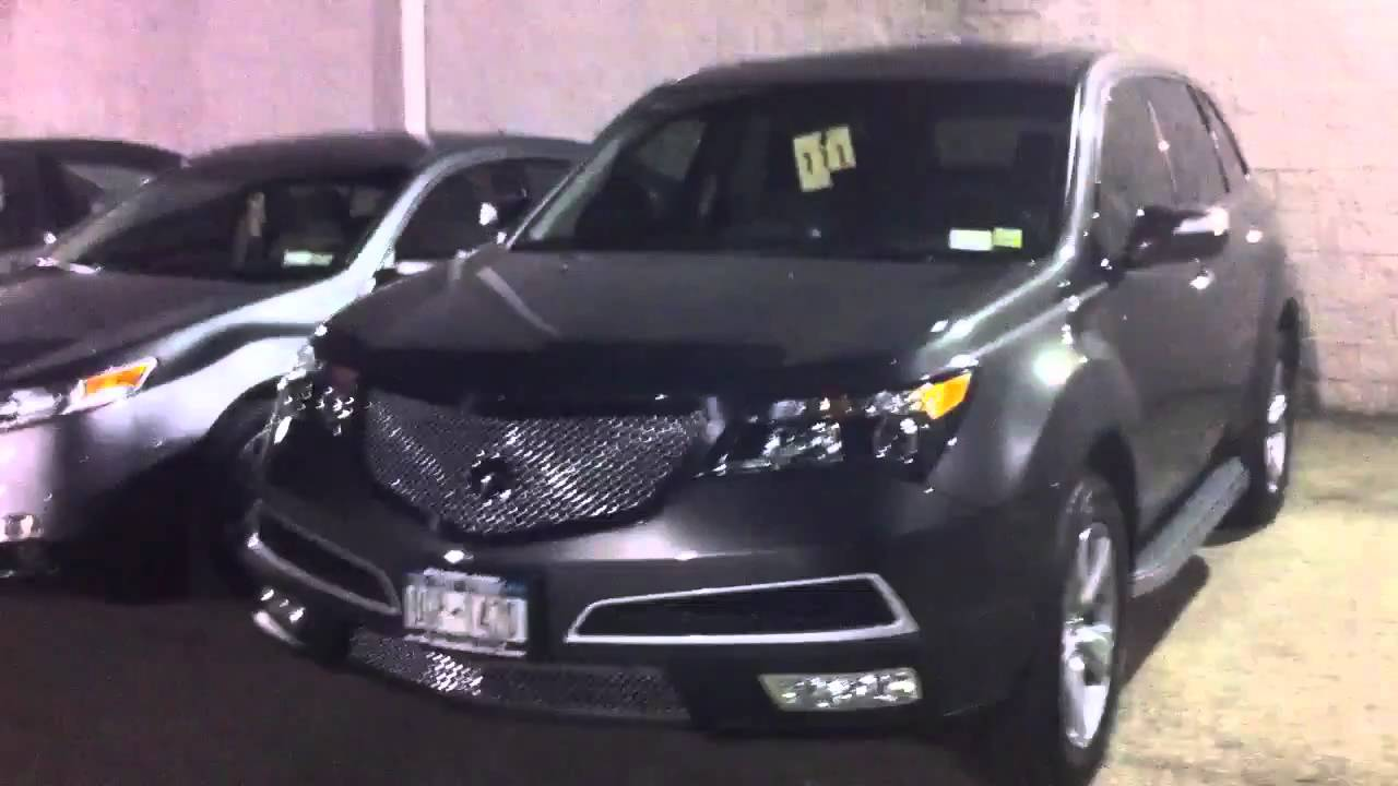 Acura Mdx Chrome Mesh Grill YouTube - Acura mdx front grill