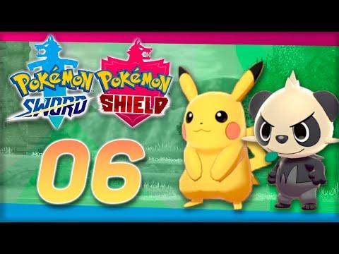 ПИКАЧУ И ПАНЧАМ -  Pokemon Sword & Shield #6 - Прохождение (ПОКЕМОНЫ НА НИНТЕНДО СВИЧ)