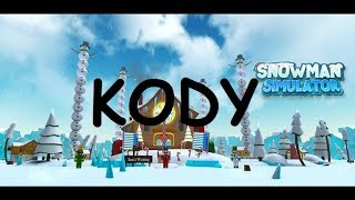 ☃️ Roblox Kody #12 ● Snowman Simulator ● 3 KODY (CODES)   Kacper70