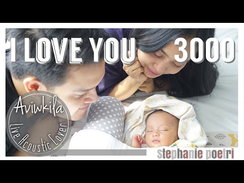 Stephanie Poetri - I Love You 3000 (Acoustic Cover by Aviwkila)