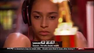 #tb Samantha Bricio (USC) vs UCLA 130925