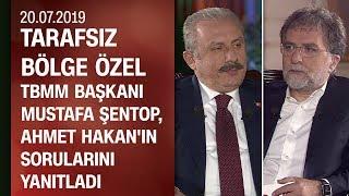TBMM Başkanı Mustafa Şentop, Ahmet Hakan'ın sorularını yanıtladı - Tarafsız Bölge Özel 20.07.2019