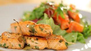 Как приготовить салат с лососем? Рецепт - Основной инстинкт, выпуск 18