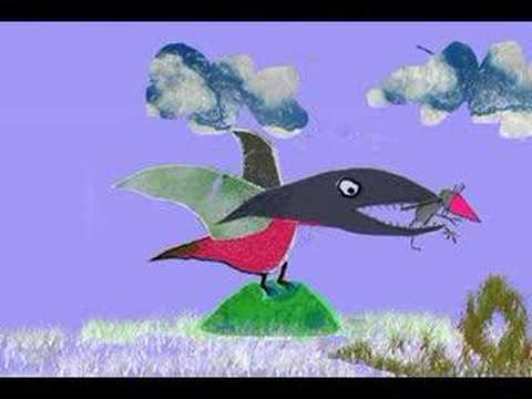 de vogel eet de muis