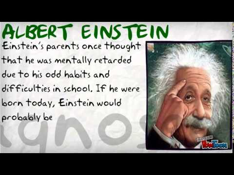 Famous People with Learning Disabilities - YouTube
