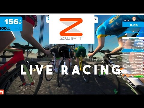 ZWIFT RACE (LIVE)
