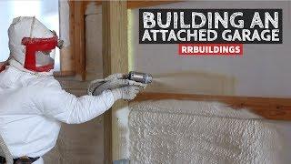 How to Build a Garage Addition 22: Installing Spray Foam Insulation