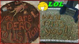 TOP Hilarious Farewell Cakes