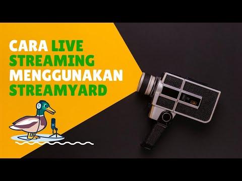 Cara live streaming menggunakan streamyard – cara menggunakan streamyard untuk live di youtube