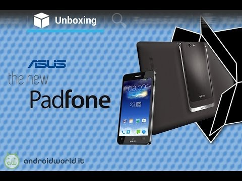 ASUS Padfone Infinity A86, unboxing in italiano