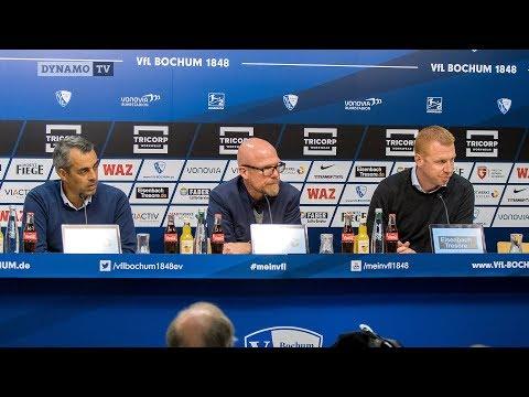 7. Spieltag | BOC - SGD | Pressekonferenz nach dem Spiel