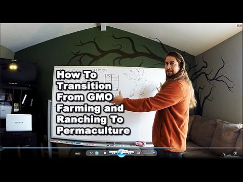 How to Transition from GMO Farming and Ranching to Permaculture