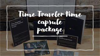 What's in the folder pack Time Traveler NotForgotten Time Capsule