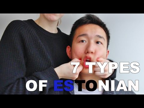 7 TYPES OF ESTONIAN