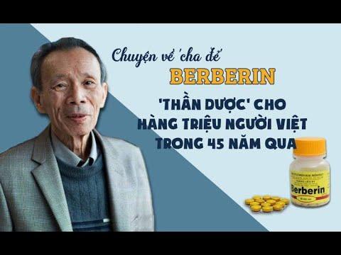 Dược sĩ Phan Quốc Kinh cha đẻ thuốc Berberin: thần dược cho hàng triệu người Việt trong 45 năm qua