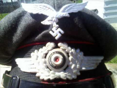 9b38bd58654 My Original WWII German Visor Caps   Insignia- Vet Bringbacks-2012 Estate  sale