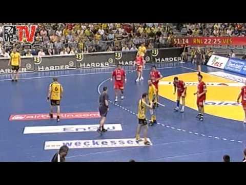 MKB VESZPRÉM KC- Rhein Neckar Löwen KEK döntő 2008 (teljes mérkőzés)
