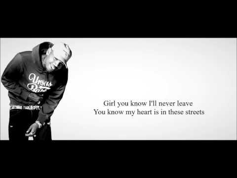 Chris Brown - Gangsta Way (feat. French Montana) Lyrics HD