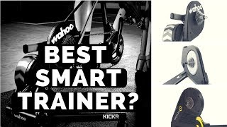 Wahoo Kickr vs. CycleOps Hammer vs. Tacx Neo & Flux
