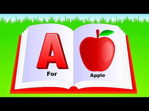 Learn Alphabet A to Z | ABC Preschool Book Learning A for AP