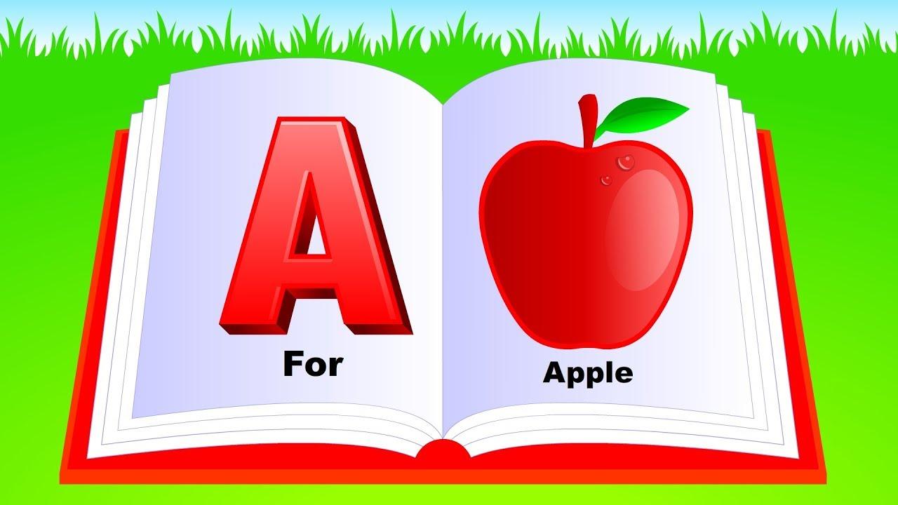 Learn Alphabet A to Z | ABC Preschool Book Learning A for APPLE Phonetics