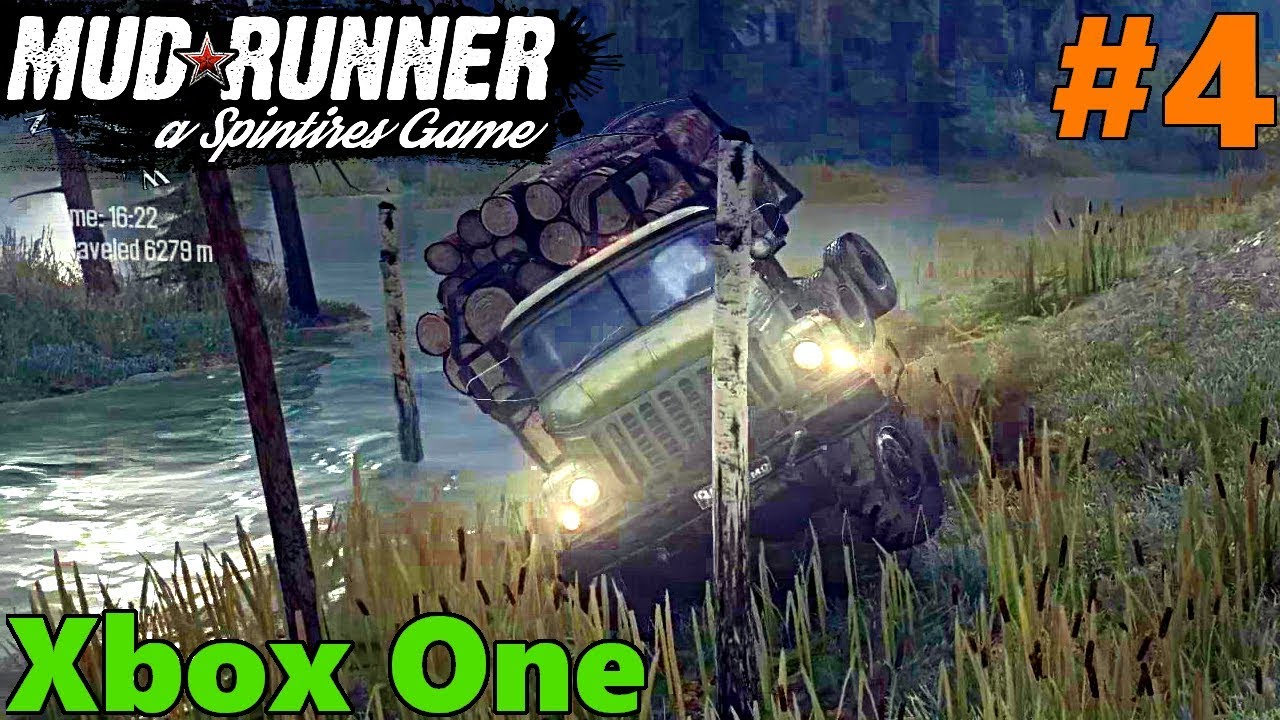 spintires mud runner xbox one let 39 s play part 4 we. Black Bedroom Furniture Sets. Home Design Ideas