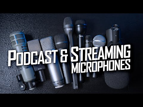 Part 1: Dynamic Microphones For Podcasting