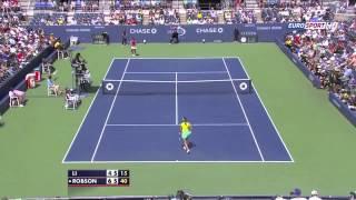 Li Na Vs Laura Robson US Open 3rd Highlights