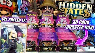 BUYING A HIDDEN FATES BOOSTER BOX AT CARLS! OPENING 36 NEW HIDDEN FATES POKEMON CARDS BOOSTER PACKS!