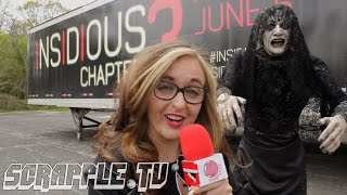 Insidious 3 4D experience [Creepy Basement w/ Jo Pincushion]