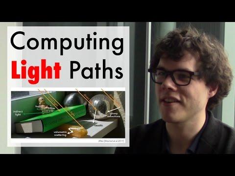 Computing Light Paths (ft. Wenzel Jakob)