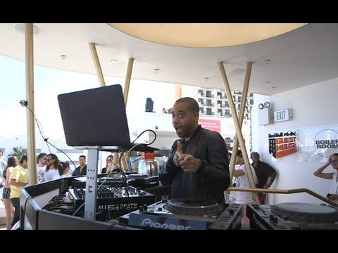 Carl Craig Boiler Room DJ Set at Red Bull Music Academy Miami