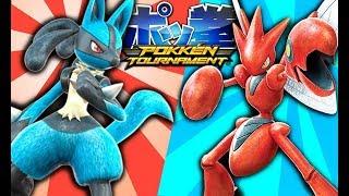connectYoutube - THE MOST INTENSE POKEMON GAME (Pokken)