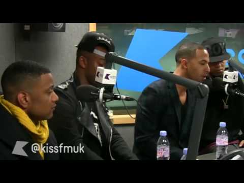 JLS Interview at Kiss FM (UK) 24/9/12