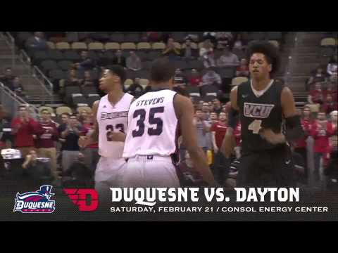 Get Your Tickets for Duquesne vs. Dayton at CONSOL NOW!
