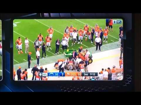 Wade Phillips Tackled By Chargers Player Carted Off Field