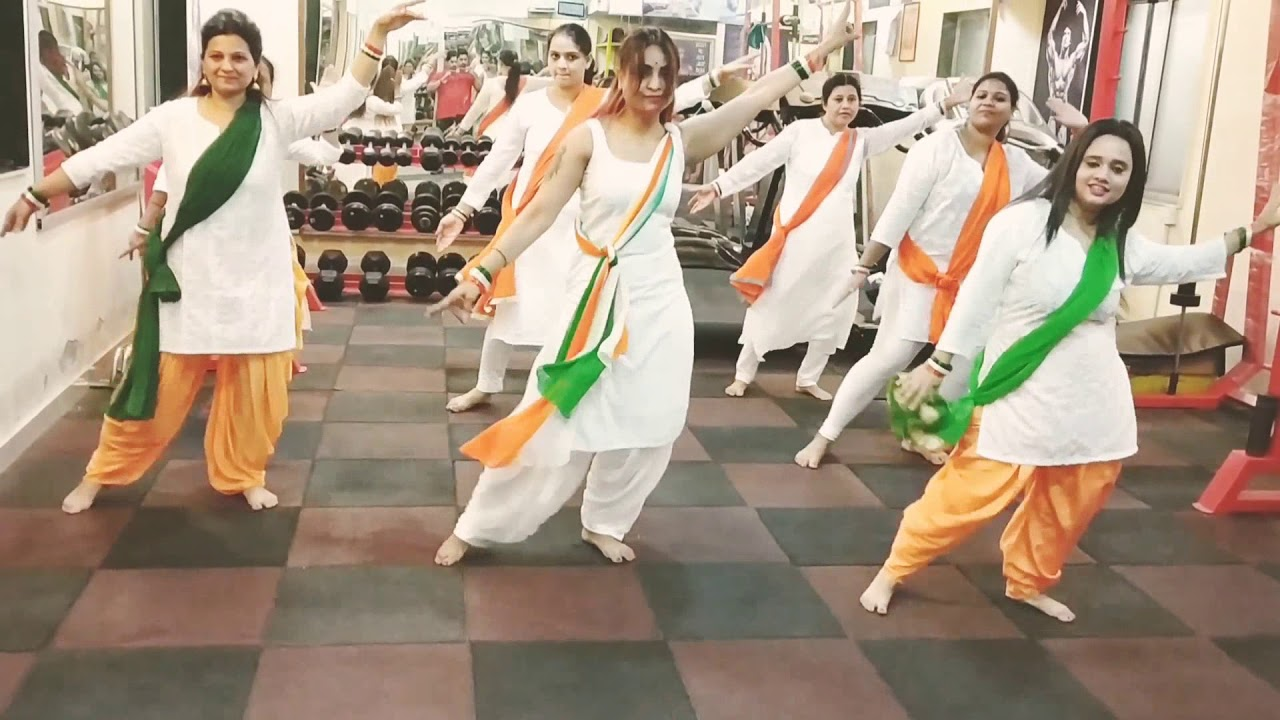 Download Desh Rangila ||Fanaa|| Bollywood dance song routine 🇮🇳