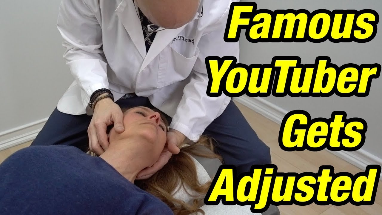 FAMOUS YOUTUBER GETS ADJUSTED #Orthopedicsurgery