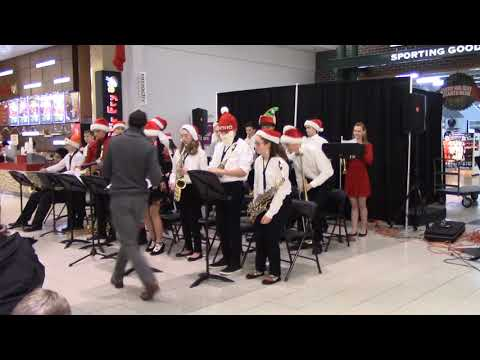 Olmsted Falls Middle School Jazz Band - Christmas 2018
