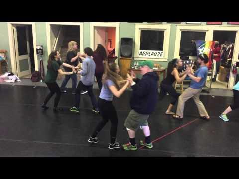 Joseph 2016 - Benjamin Calypso rehearsal