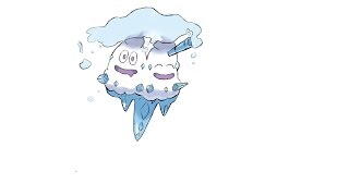 Pokemon Vanilluxe Speed Draw!