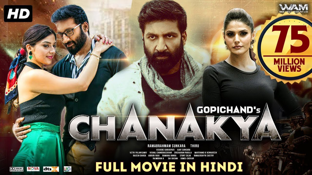 Download Chanakya Full Movie (2020) New Released Hindi Dubbed Movie | Gopichand, Mehreen Pirzada, Zareen Khan