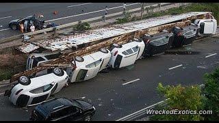 【悲惨な衝撃映像!】日本・世界の交通事故瞬間映像集8ドライブレコーダ...