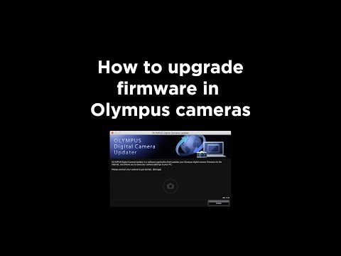 How To Upgrade Firmware In Olympus OMD Cameras.