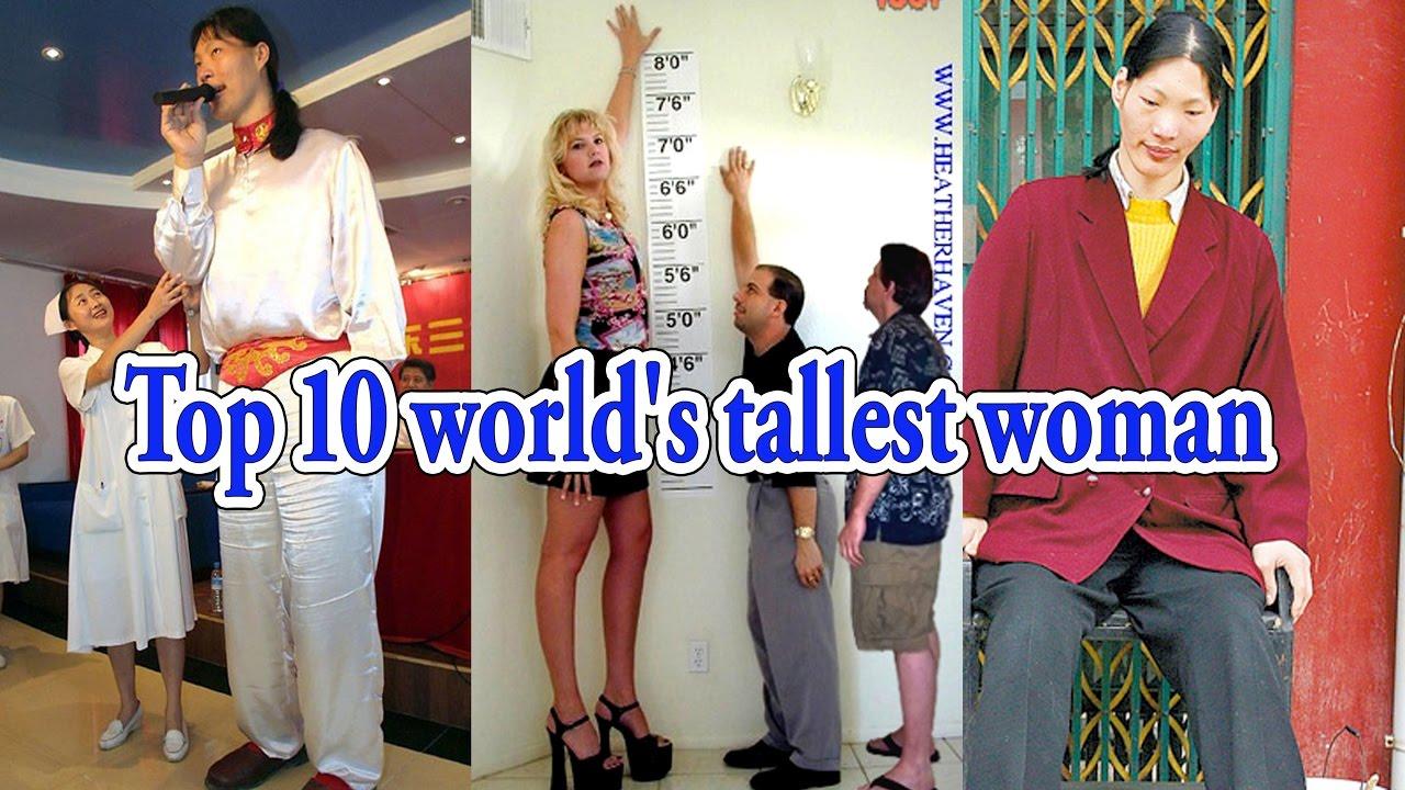 tall girl Top 10 world's tallest woman 2016 / 2017 ...