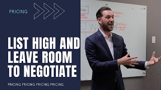 Should you list high and leave room for negotiation?